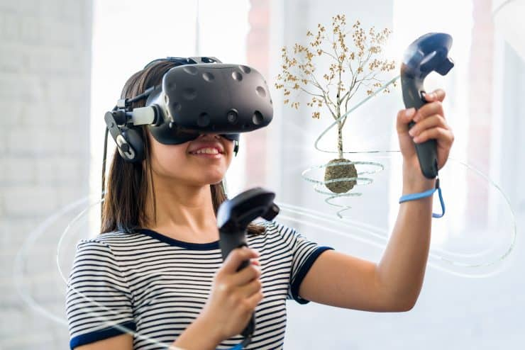 Virtual reality interactive learning