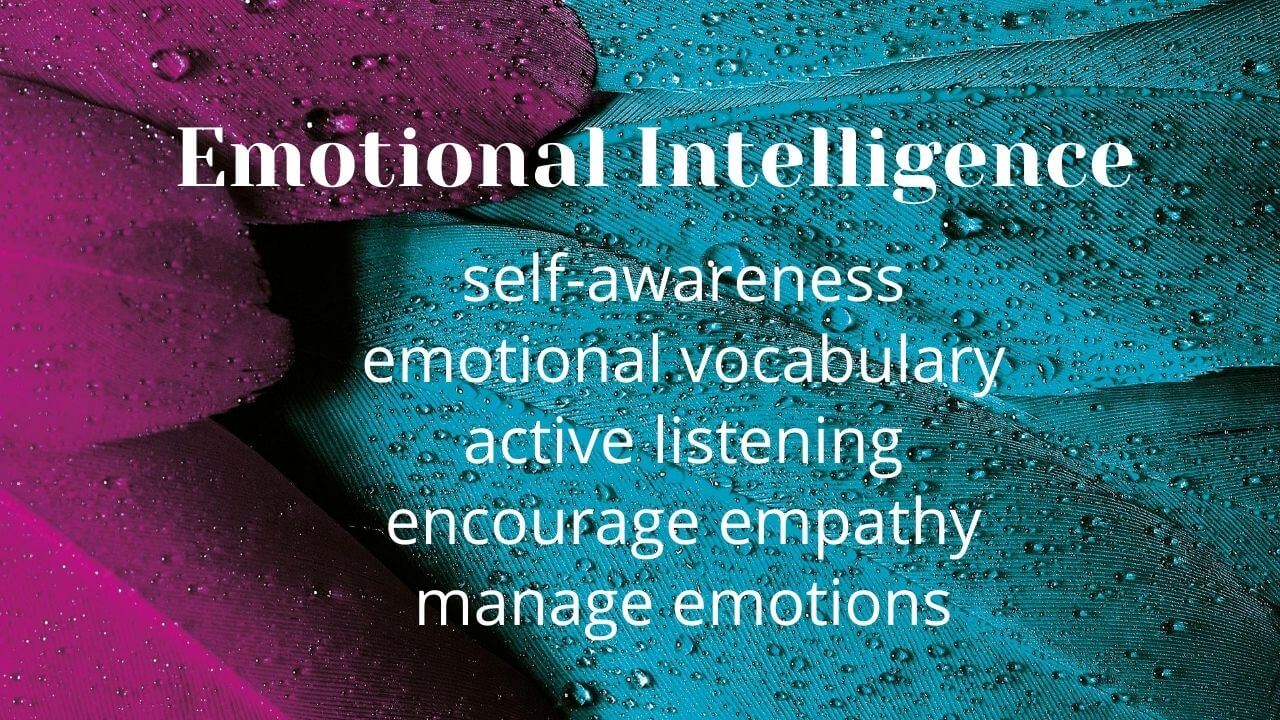 Emotional Intelligence - 5 ways to teach it