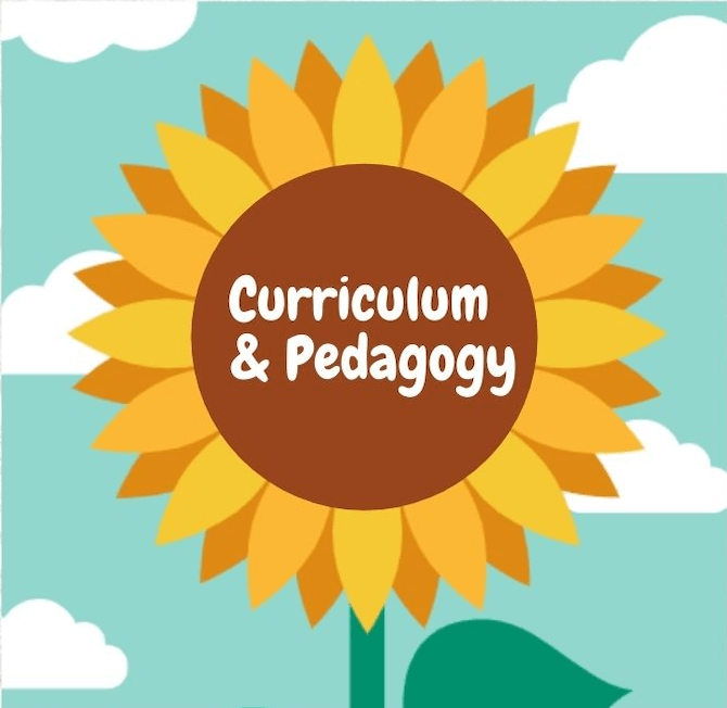 know the curriculum and pedagogy