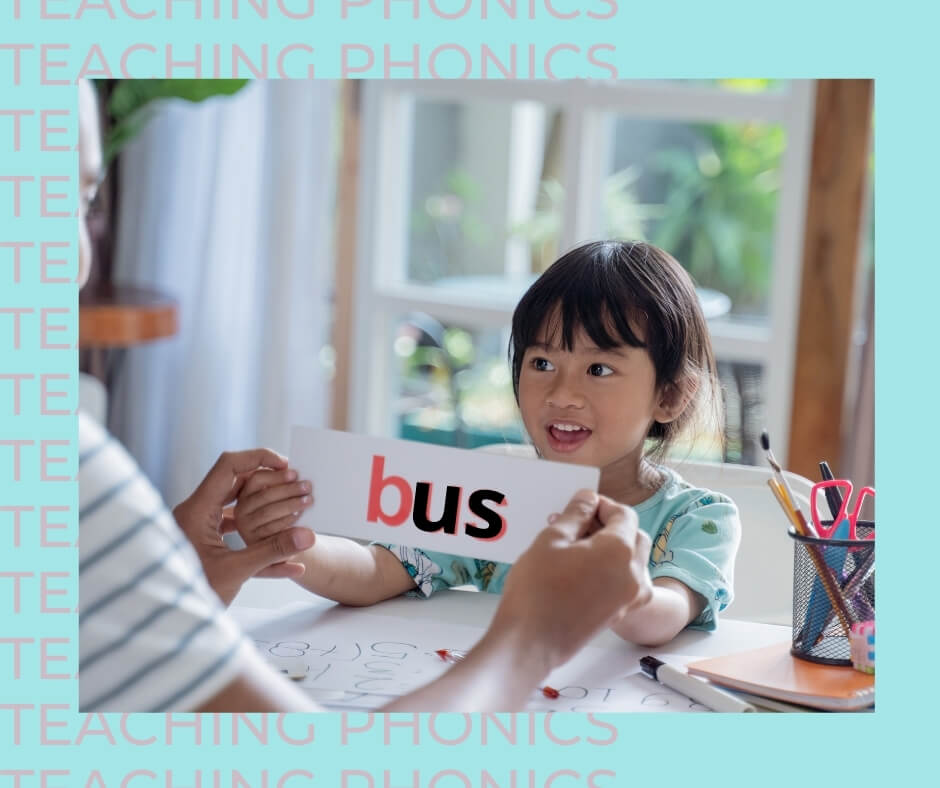 How teaching phonics helps makes kids better readers
